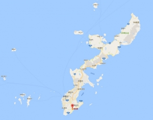 沖縄地図1-1705