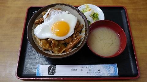 滝川市 食堂 高田屋 「チャップ丼」