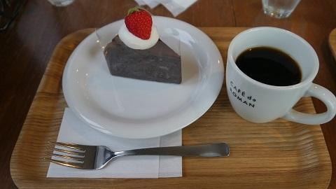 CAFÉ de ROMAN 藻岩店 (カフェ ド ロマン ろまん亭)