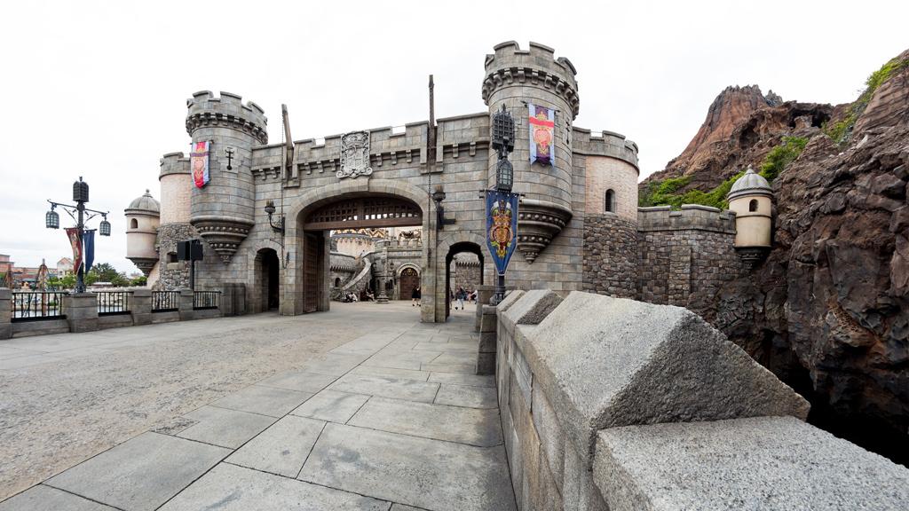 城門 北側より(フォートレス・エクスプロレーション)