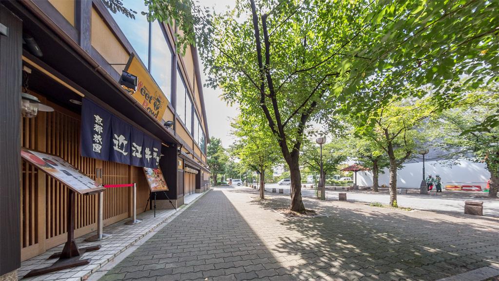 新門前通西端(京都)