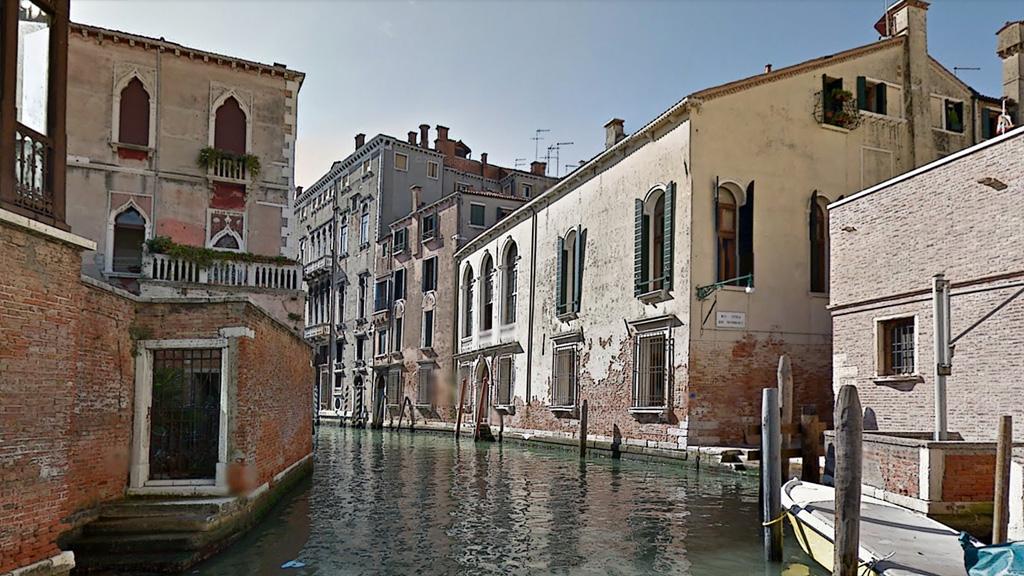 ヴェネチアの運河(googleでの旅)