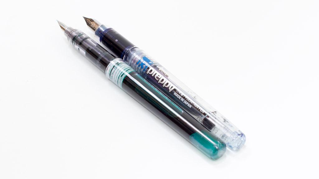インクジェットプリンタのインクを万年筆で使うと