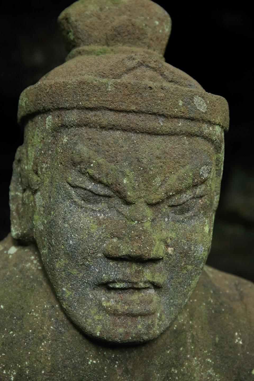 2017 8 6 仏岩の仏 (多聞天)ブログ用.jpg