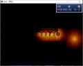 洞窟の灯りの処理の実験2