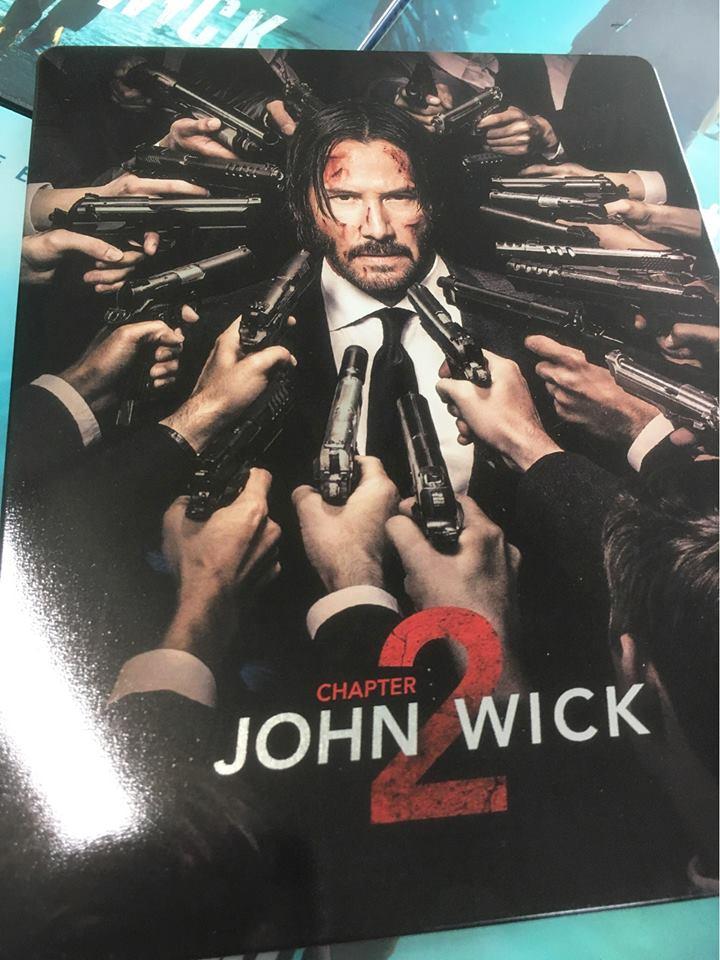 ジョン・ウィック:チャプター2 スチールブック steelbook Novamedia