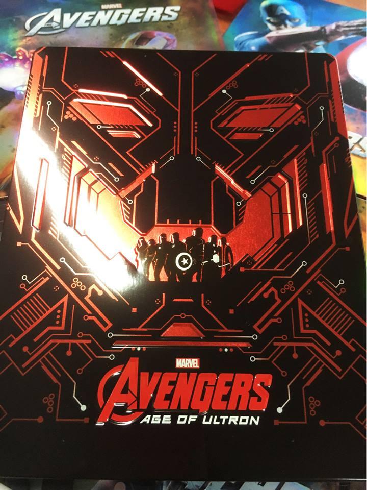 アベンジャーズ/エイジ・オブ・ウルトロン Avengers Novamedia steelbook スチールブック