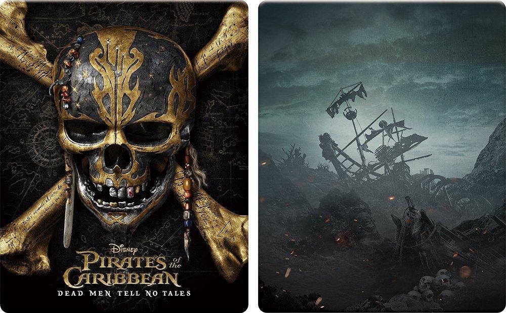 パイレーツ・オブ・カリビアン/最後の海賊 スチールブック