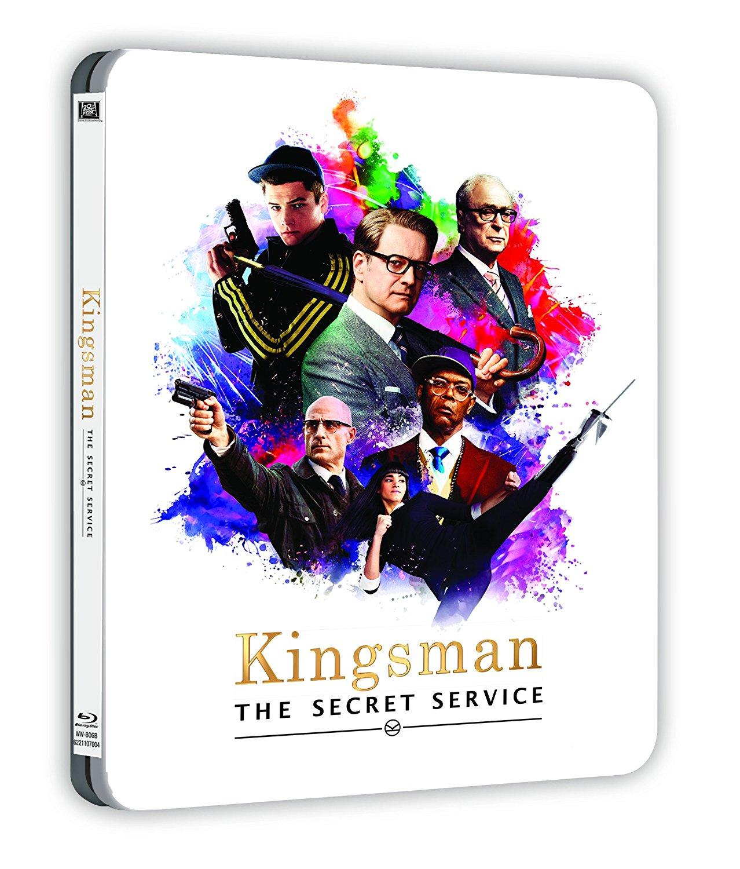 キングスマン Kingsman: The Secret Service steelbook スチールブック