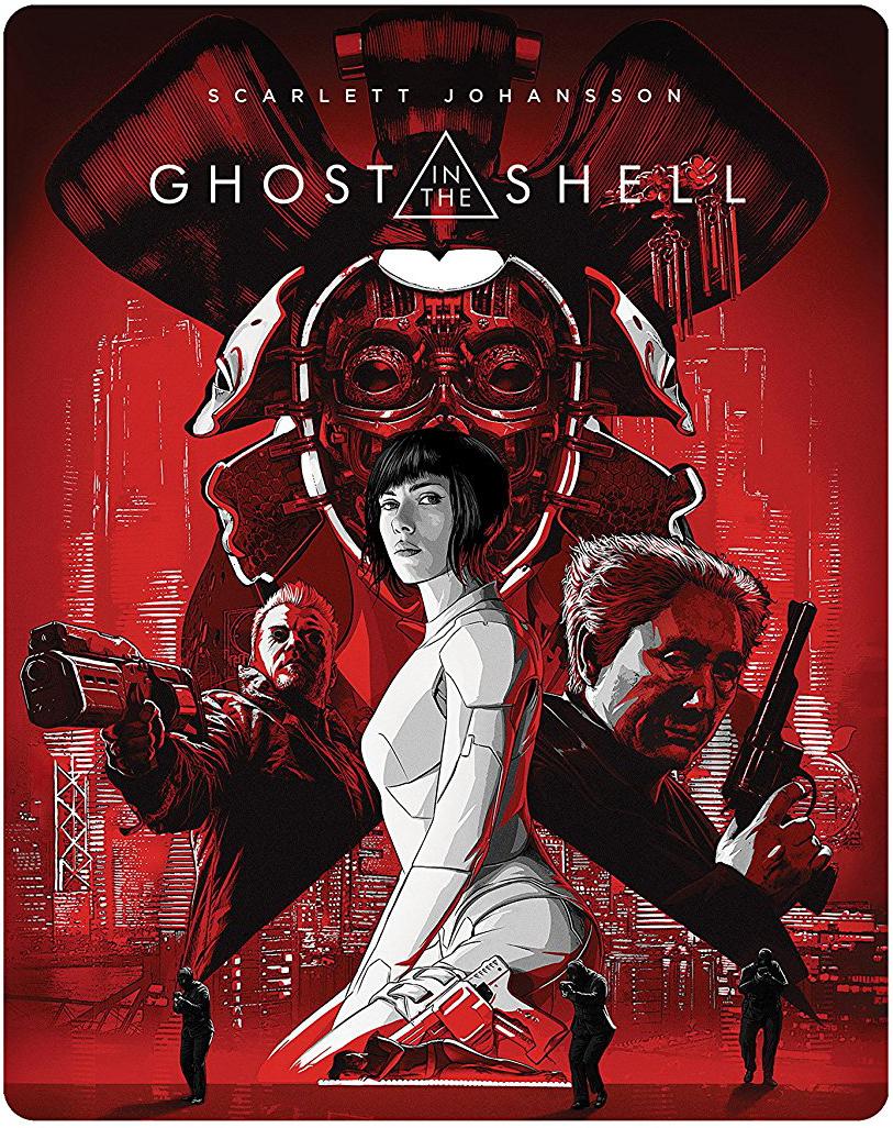 ゴースト・イン・ザ・シェル スチールブック steelbook GHOST IN THE SHELL/攻殻機動隊