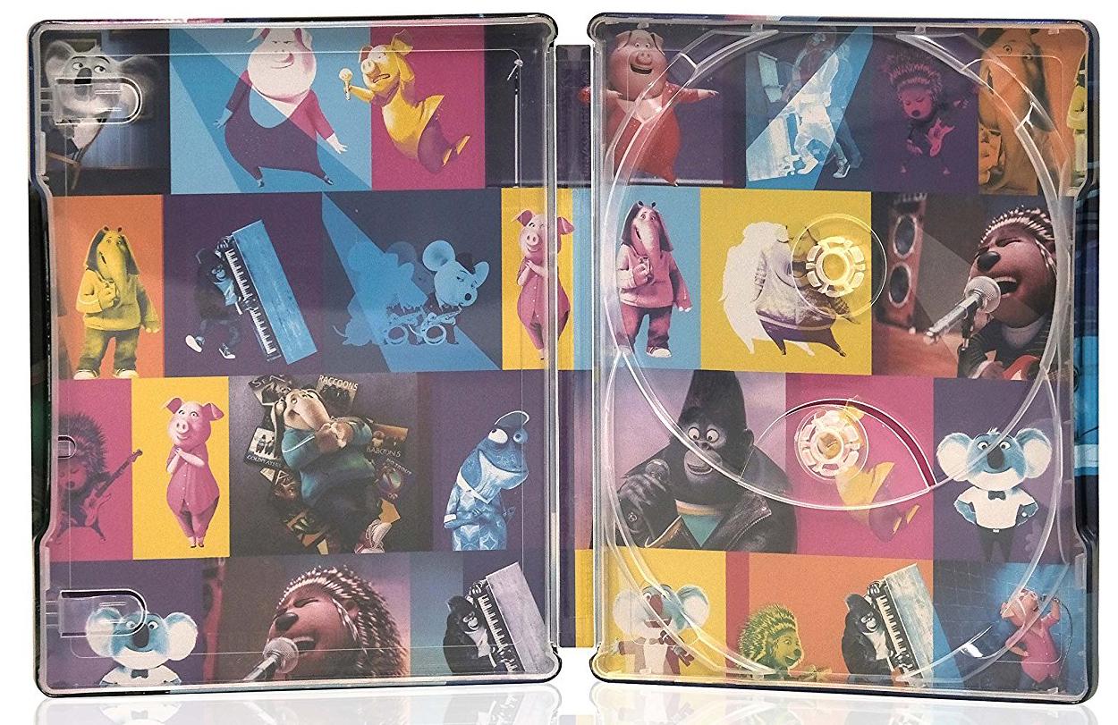 SING/シング スチールブック ブルーレイ