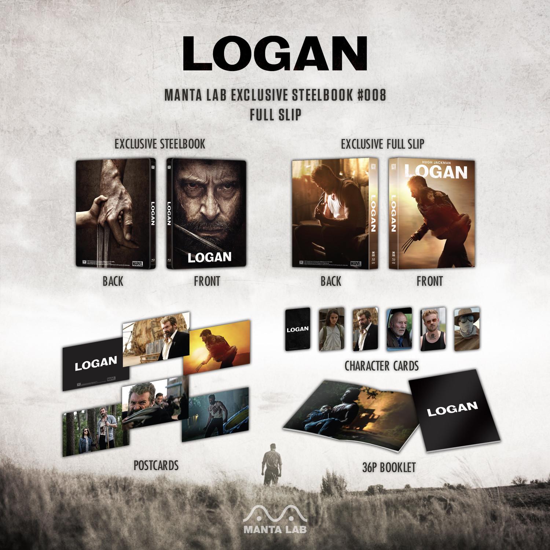 LOGAN ローガン MantaLab スチールブック