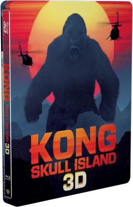 キングコング:髑髏島の巨神 steelbook スチールブック