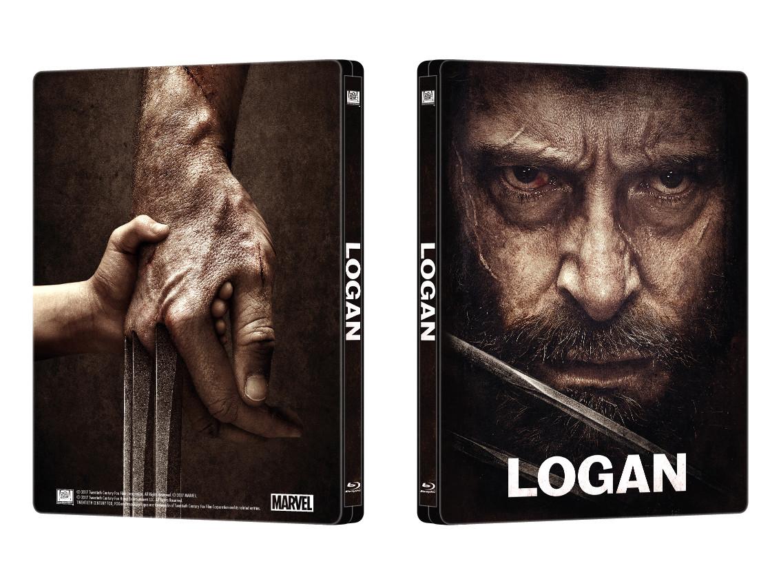 ローガン スチール<br />ブック LOGAN steelbook MantaLab