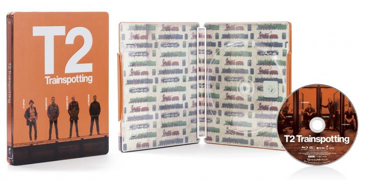 T2 トレインスポッティング HMV スチールブック steelbook