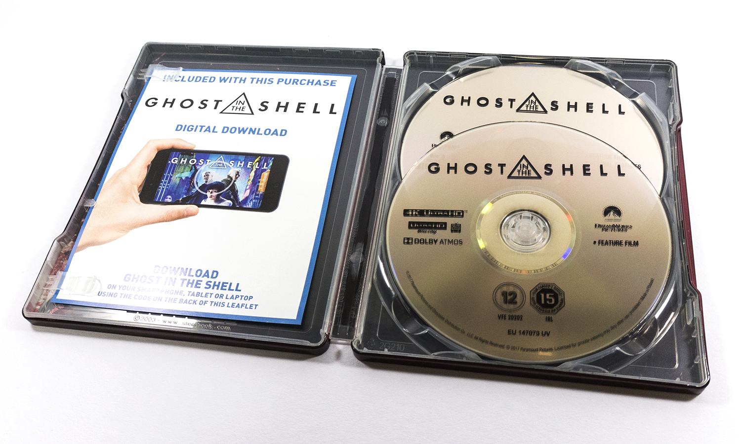 Ghost in the Shell steelbook ゴースト・イン・ザ・シェル<br /> スチールブック
