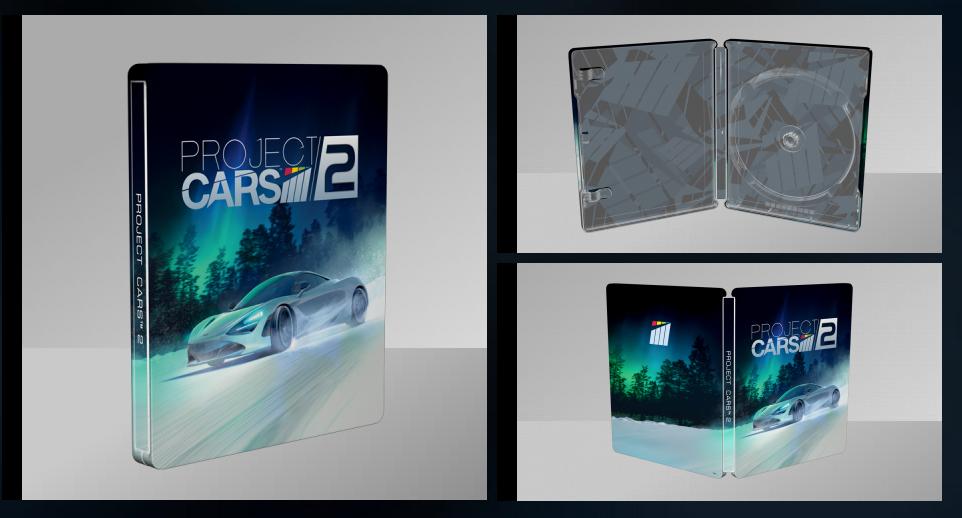 Project CARS 2 スチールブック steelbook
