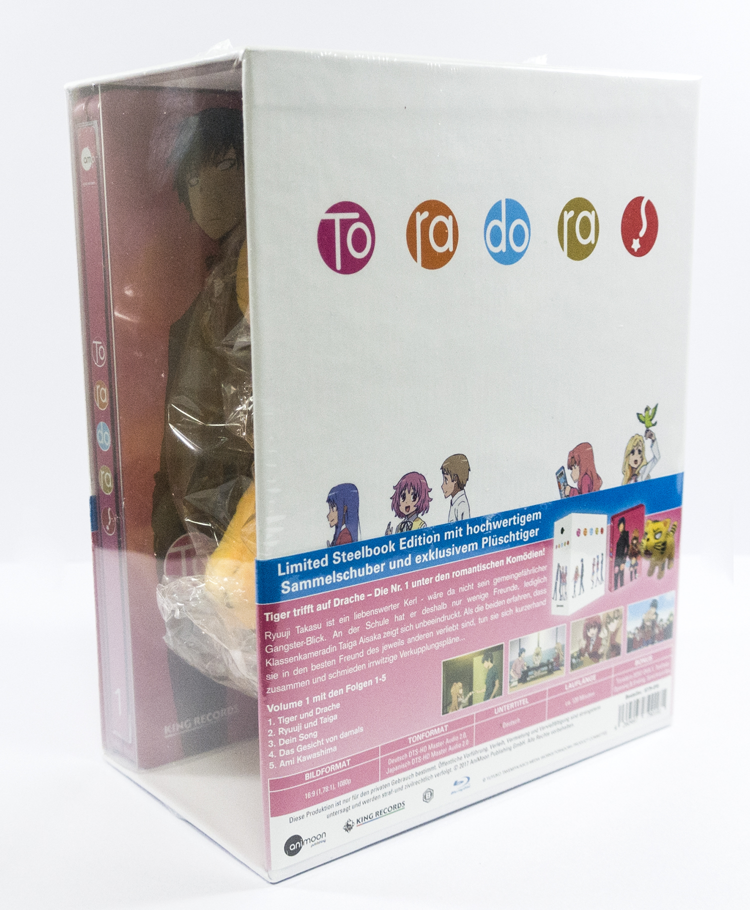 とらドラ! Vol.1 ドイツ スチールブック Toradora! Vol. 1 - Limited Steelbook Edition