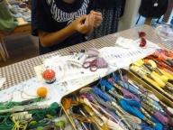 小学生の手芸教室~ルシアンでサシェ