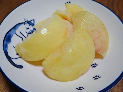 岡山の白桃♪