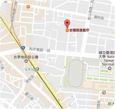 勵進餐廳地図