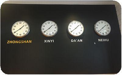 Check Café時計