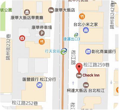Check Café地図