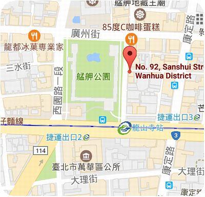 三六圓仔店地図