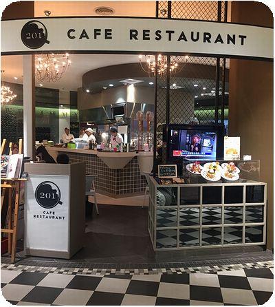 201 Cafe Restaurant外観