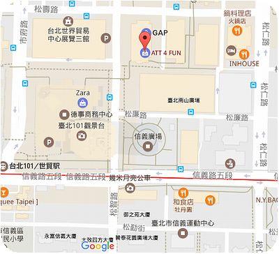 201 Cafe Restaurant地図