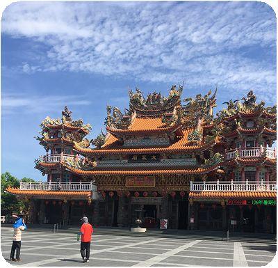 台湾旅行寺