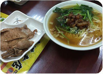南港老店魯肉飯麺