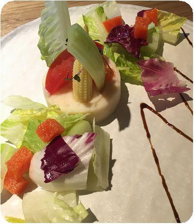 陶板屋サラダ
