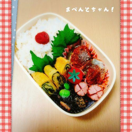 ★5月31日(水)ピーマンの肉詰め弁当2