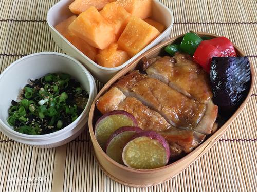 焼き野菜&照り焼きチキン丼弁当