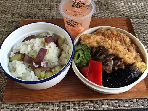 素揚げ野菜&とんかつおろし煮弁当