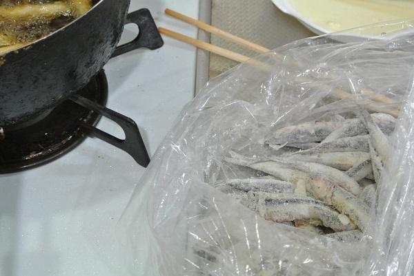 真いわしの天ぷら2