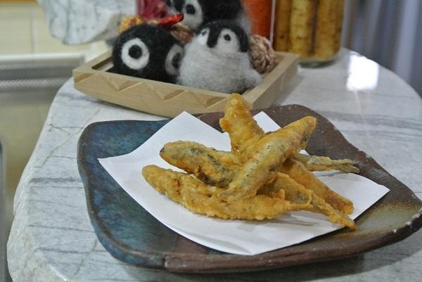 真いわしの天ぷら4