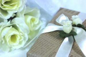 父の日 白薔薇