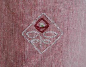 刺繍エプロン-2