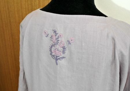 ポイント刺繍