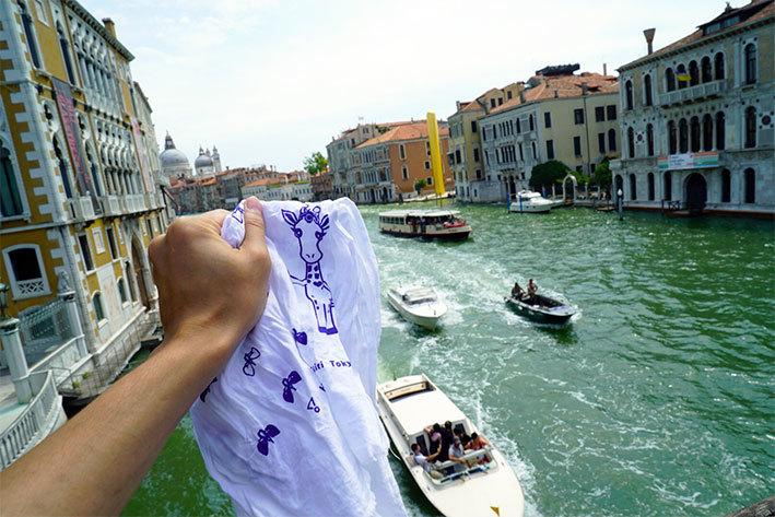ほりきりん、ヴェネツィア進出