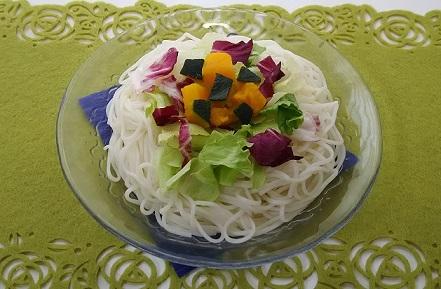 20170711サラダ素麺