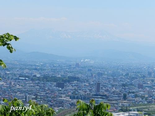 嵐山展望台で