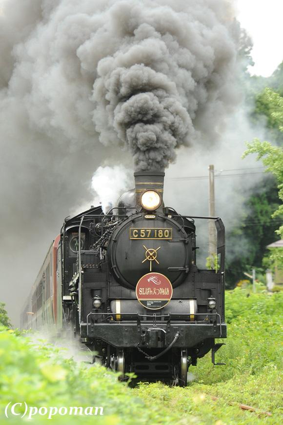 DSC_9386 - コピー2017 8 11 磐越西線 鹿瀬~日出谷 580 871 popoman
