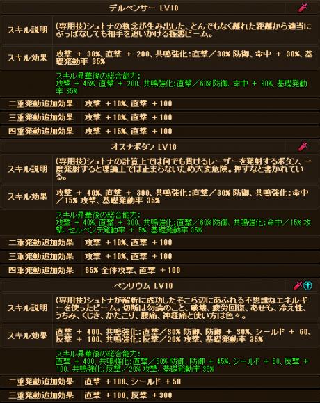 20170715-00c ☆10Exシュトナちゃんのデータ♪追記
