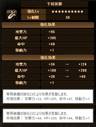 20170810-00c ☆10Exアーチャイリヤちゃんのデータ♪追記
