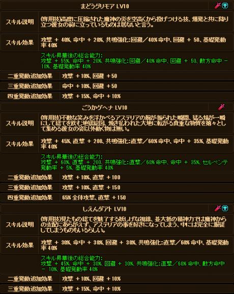 20170826-00c ☆10Exアステリアさんのデータ♪追記