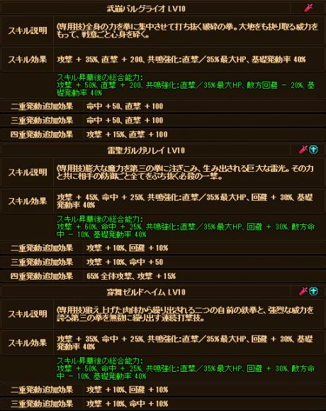 20170826-00e ☆10Exルガルドお兄様のデータ♪追記