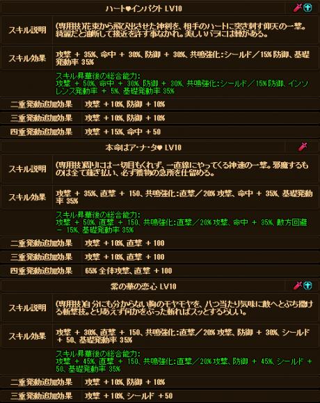20170826-00j ☆10ExVDシオンちゃんのデータ♪追記